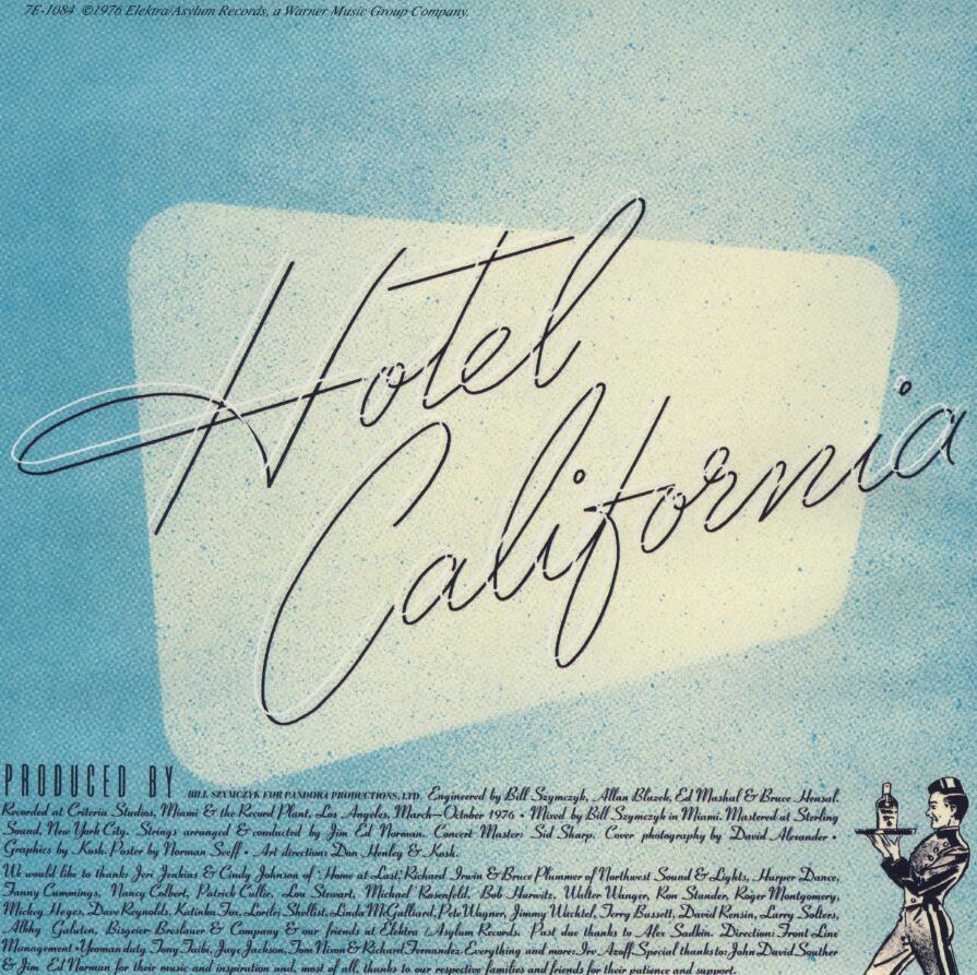 Eagles乐队:《 Hotel California (1976)》无损flac