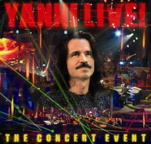 Yanni(雅尼).-.[Yanni.Live!.The.Concert.Event].专辑.(APE)